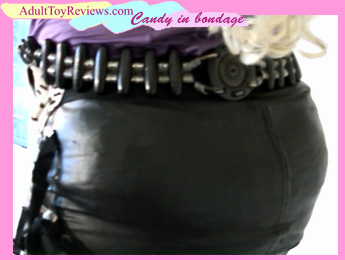 Candy in Bondage: miniskirt