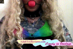 Candy in Bondage: Ball Gag Paint Free